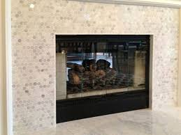 fireplace surround tile over brick u2014 home ideas collection