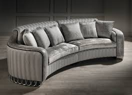 Couch Furniture Small Curved Sofa Luxury Small Curved Sofa Silver Sofa