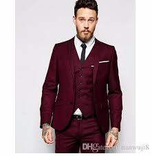 men wedding 2017 new design men wedding suits groom formal suit two buttons
