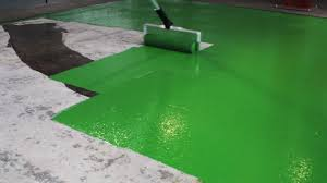 Epoxy Floor Paint How To Paint An Anti Slip Floor Coating Rizistal Repair