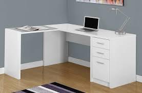 Black And White Computer Desk White Corner Computer Desk With Lamp Desk Design Modern White