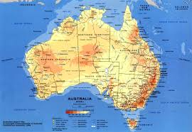 map of austrilia detailed map of australia nations project within aussie