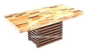 Sustainable Dining Table Butcher Block Dining Table Awesome Sustainable Dining Table