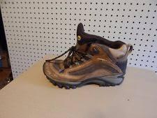 merrell womens boots size 11 merrell womens siren waterproof mid leather boots j16038 brown