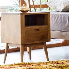 mid century nightstands you u0027ll love wayfair