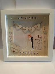 personalized wedding photo frame scrabble wedding gift in a shadow box nifty diy