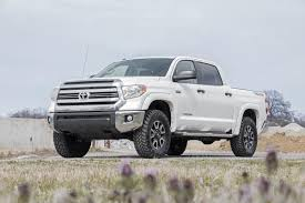 2 5 3in front leveling lift kit for 07 18 toyota 4wd tundra