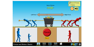 forces and motion basics force motion friction phet