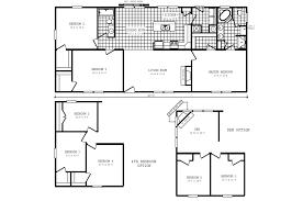 4 Bedroom Single Wide Mobile Home Floor Plans Mobile Home Addition Floor Plans