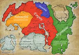 Map Of Nirn Tg Traditional Games