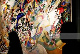 russian artist kandinsky u0027s composition vi and composition vii go