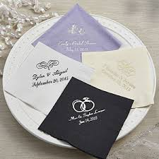 personalized wedding favors personalized wedding bridal shower beverage napkins party gifts