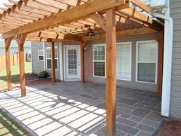 Good Home Design by New Pergola Over Concrete Patio Nice Home Design Classy Simple To