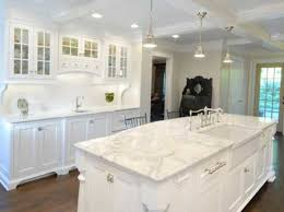 White Kitchen Cabinets And White Countertops Granite And Marble Most Popular Modern Kitchen Cabinet Countertops