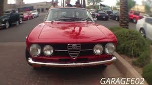 alfa romeo classic gtv 1969 alfa romeo 1750 gtv coupé at cars and coffee scottsdale youtube