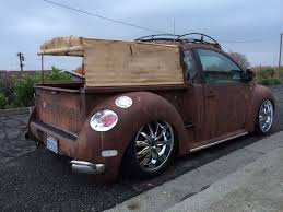 vw new beetle rat rod truck