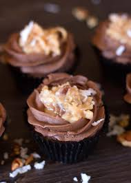german chocolate cupcakes rose bakes