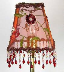 Lamp Shades For Chandeliers Small 27 Best Vintage Lampshades Images On Pinterest Vintage