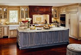 distressed kitchen islands 15 perfectly distressed wood kitchen designs home design lover