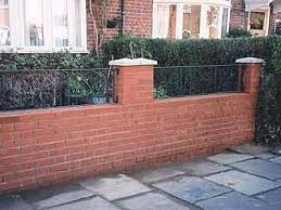 Garden Brick Wall Design Ideas Brick Garden Wall Hydraz Club