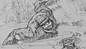 bigfoot sketch u2013 satanfudge