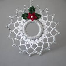 crochet christmas adorable crochet christmas ornaments yishifashion