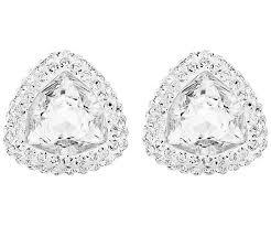 palladium jewelry begin stud pierced earrings white palladium plating jewelry