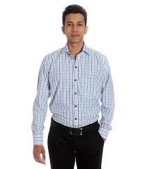 25 off on tag u0026 trend slim fit formal shirt brandeis blue color