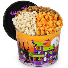 Halloween Monster Munch Monster Munch Popcorn Tin Care Packages And Gifts Ocm Com