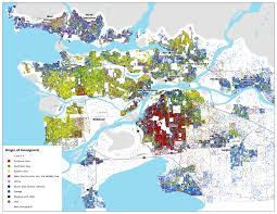 Population Density Map Of Canada by Healthy City Maps Immigration Clusters In Vancouver
