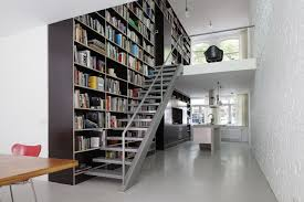 modern home library designs that know how to stand out vertical
