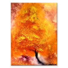 Abstract Landscape Painting by Chemically Gold Abstract Landscape Painting Step By Step Art