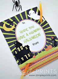 halloween class party printables
