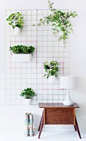diy plant wall home design ideas