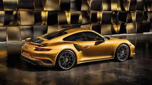 Porsche 911 Turbo - here u0027s what makes the 2018 porsche 911 turbo s exclusive series so