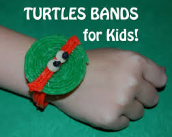 wikki stix ninja turtles crafts for kids wikki stix