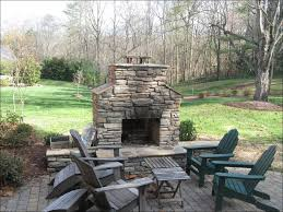 outdoor stone wall fire pit circular stone fire pit backyard