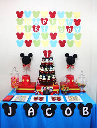 mickey mouse birthday ideas mickey mouse birthday decorations 1 st party imagine