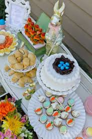 easter tea party adorable girl easter tea party food for the
