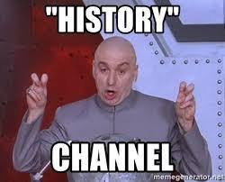 History Channel Meme Generator - dr evil air quotes meme generator