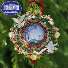 56 best white house christmas ornaments images on pinterest