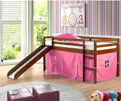 loft beds castle tent loft bed with slide bunk beds stairs and