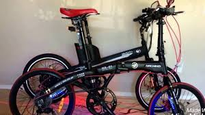 bmw folding bicycle electric bike seagull vs hachiko folding bike youtube