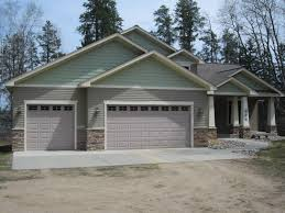 image result for stone on front of garage ideas for the house