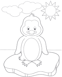 cute penguin coloring pages az coloring pages clip art library