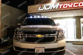 oem chevy cab lights 5 pieces smoked roof cab marker running led lights for truck suv