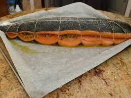 cuisiner un saumon entier saumon au four façon samake harra la cuisine chez nous