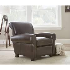 steve ct850c clinton leather accent chair homeclick com