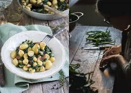 cuisine epinard recette gnocchis au fromage sans gluten bonneterre épinards lardons