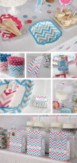 gender reveal party decorations chevron gender reveal party supplies big dot of happiness